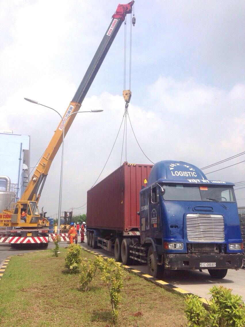 dịch vụ vận chuyển bằng container giá rẻ Vietmylogistic