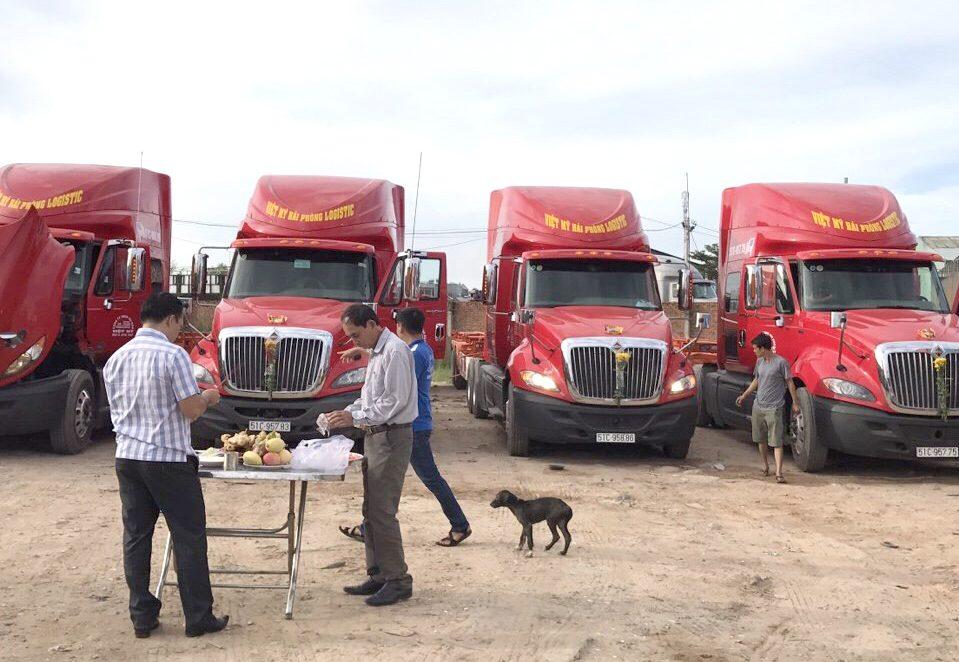 dịch vụ vận chuyển hàng hoá container